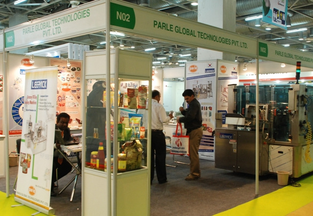 Parle Global Received Genuine Enquiries @ PackPlus 2012