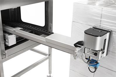 Domino Printing Introduces Off-shelf Pallet Labeller