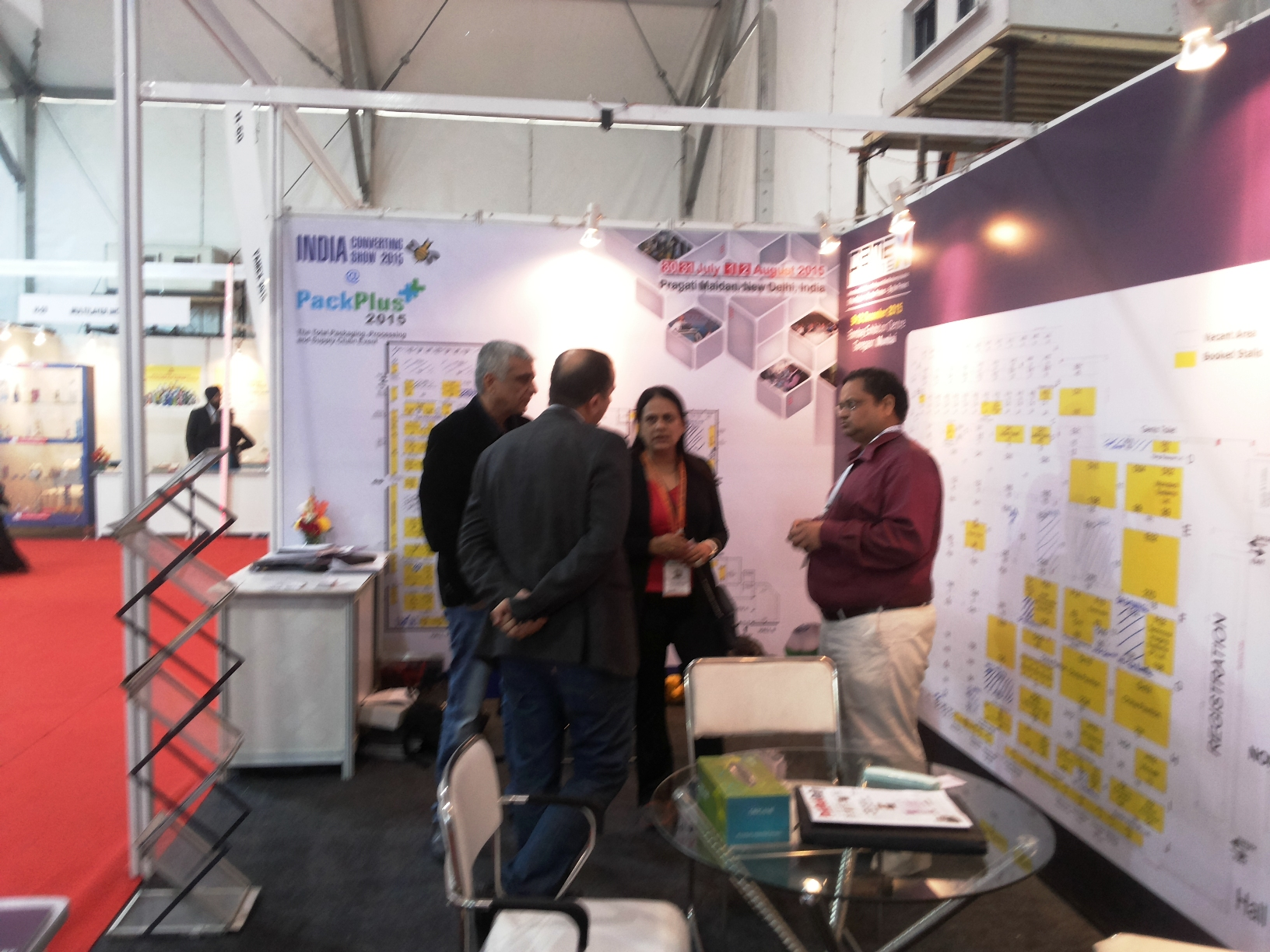 Pamex well received at PrintPack 2015