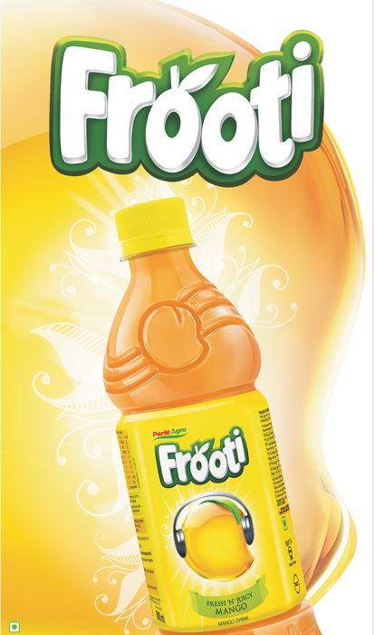 Parle Agro Gives New Logo & packaging To Frooti