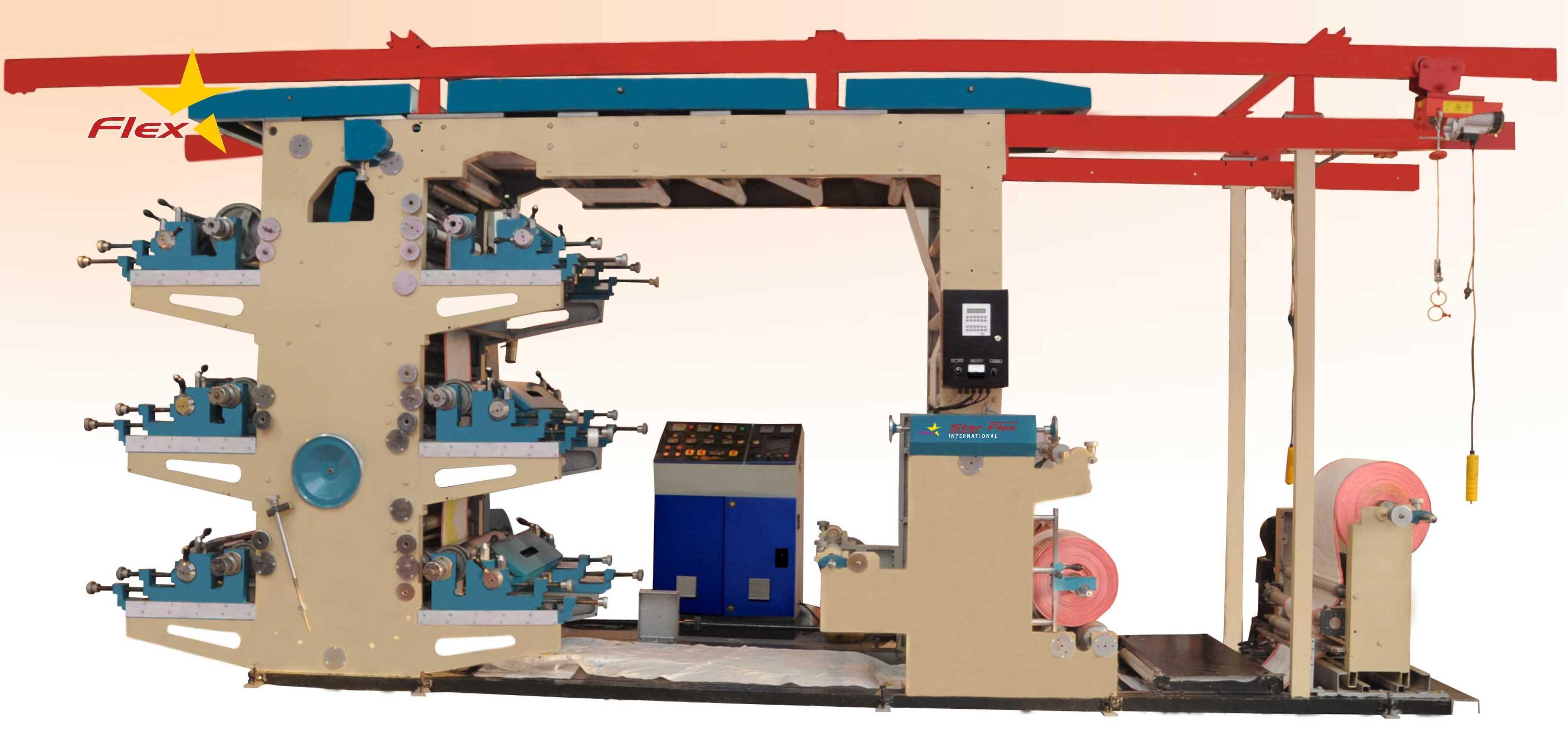 Star Flex International Offers High Speed Flexo Printing Machine