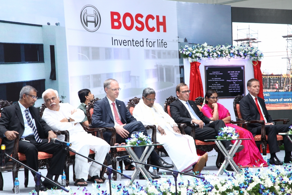 Bosch Inaugurates 14th Manufacturing Facility In India