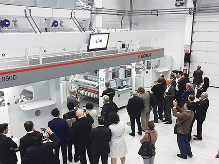 Bobst Italia highlights gravure and lamination technologies