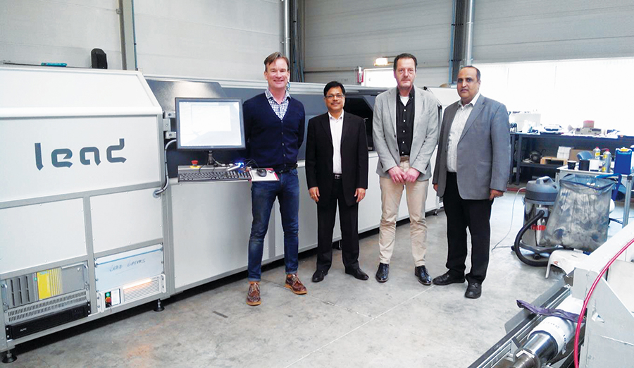 Vinsak Brings Laser Engraving To India: Shall Offer Much More @ PAMEX '15