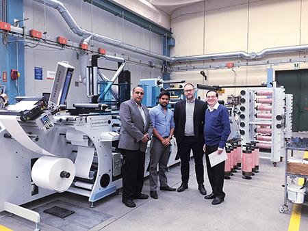 Ranesh Bajaj, Anubhav Jain, Massimo Lombadi and Ashok Jain
