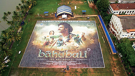 Indian epic film Baahubali's printed poster breaks Guinness world record