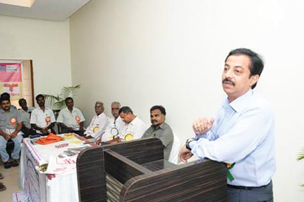 PAMEX Tours to Thiruvanamalai – Generates Huge Interest in Show!