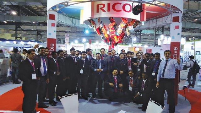 RICOH Sold 27 Units to Customers From All Over India During PAMEX '15