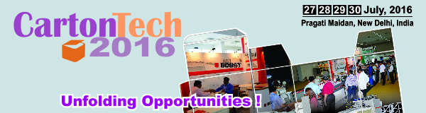 CartonTech 2016 to be co-located with PackPlus at New Delhi