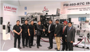 Monotech Systems to represent Labelmen Machinery in India