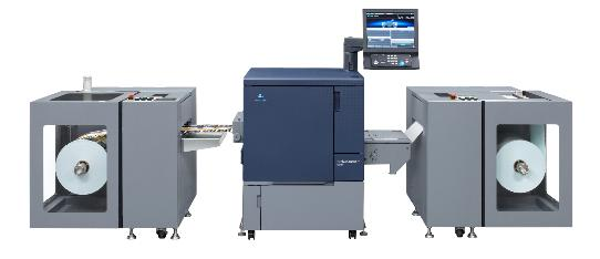Konica Minolta enters the label printing market with bizhub PRESS C71cf