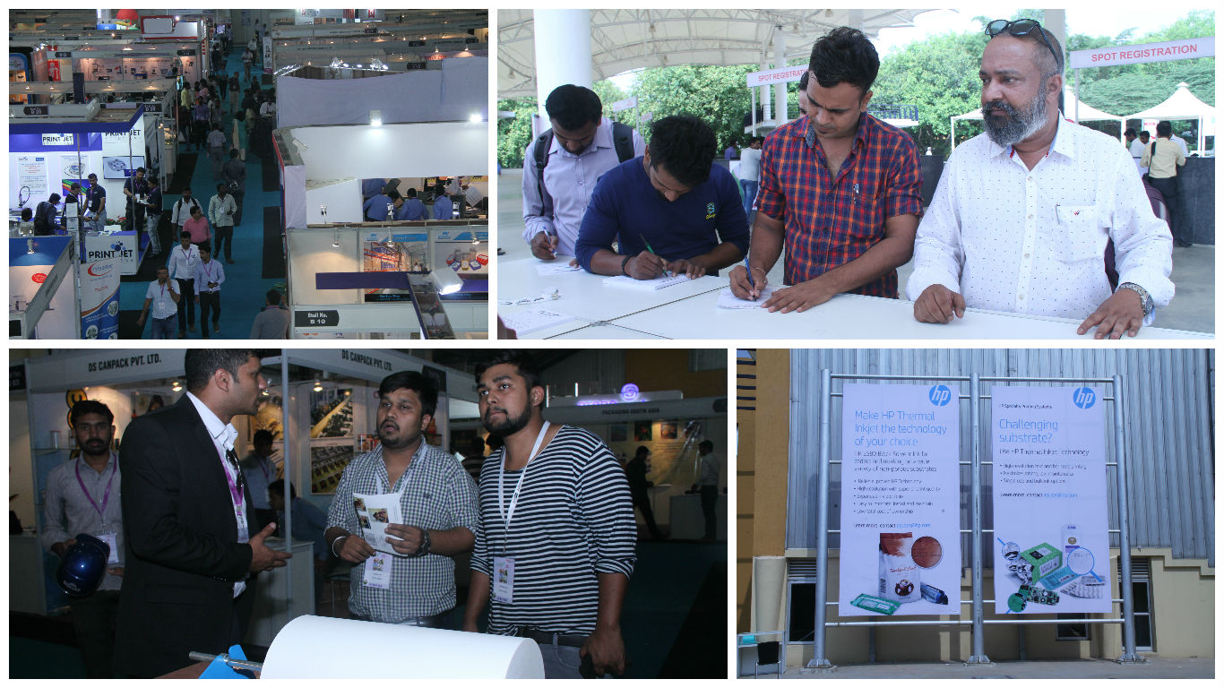 2608 Unique Visitors Mark Their Presence @ PackPlus South –  Day 3!!
