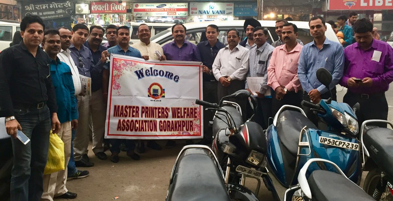 Print Yatra Tours Gorakhpur to Rousing Response