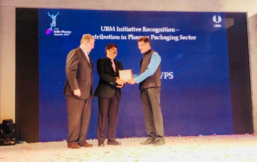 Chakravarthi AVPS Awarded for Outstanding Contribution to Pharma Packaging