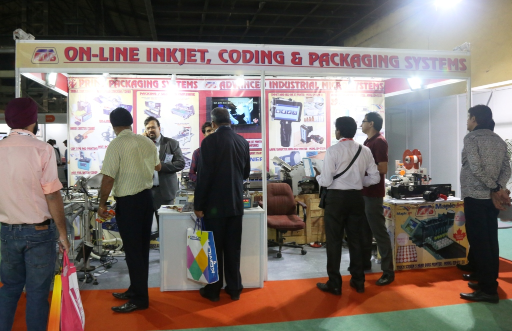 Day 1 @ India Packaging Show, Mumbai