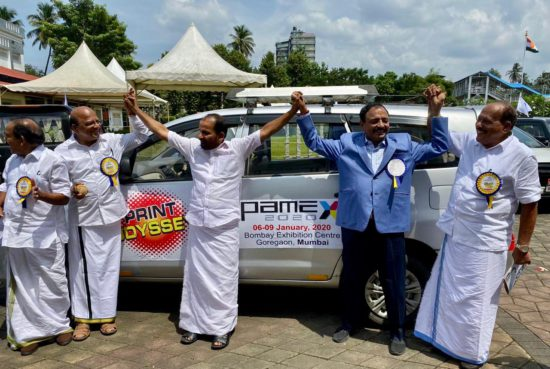 Print Odyssey- Team PAMEX tours across Kerala!