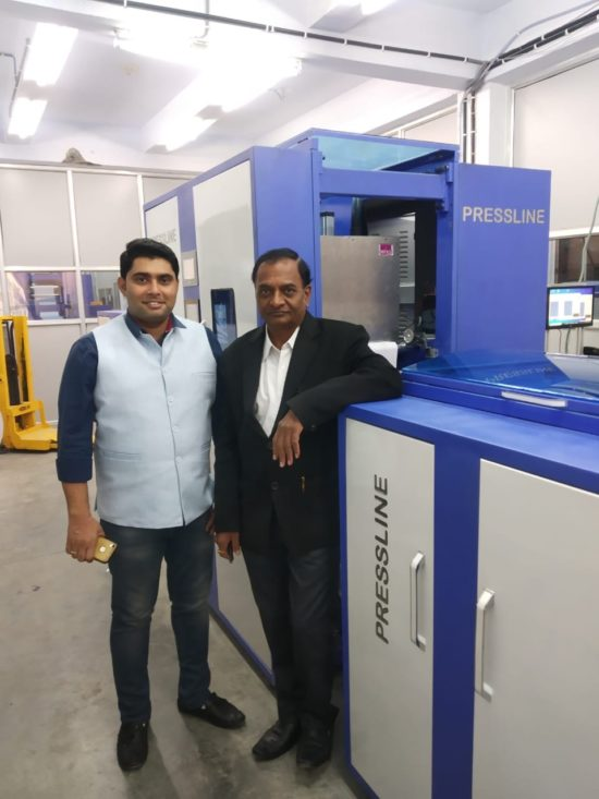 Monotech Systems installs First Print-on-Demand JETSCI® Monochrome Inkjet Web Press at Bhavik Publications